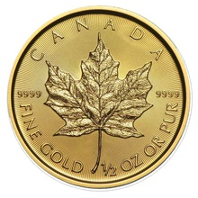 2016 Half Ounce Gold Maple