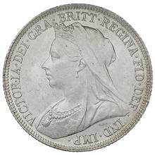1893 Queen Victoria Silver Shilling rare dies 1+C