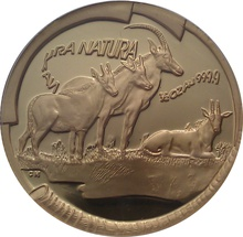 2000 Half Ounce Natura Gold Coin