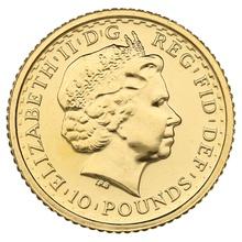 2003 Tenth Ounce Gold Britannia
