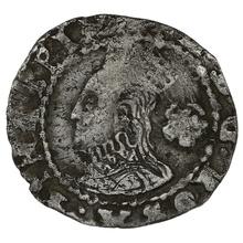1575 Elizabeth I Silver Three Farthing - mm Eglantine