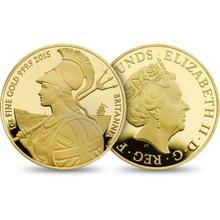 2015 One Ounce Proof Britannia Gold Coin