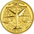 2018 Royal Mint Quarter Ounce 1/4 oz Gold Standard £25 coin