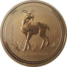 2003 2oz Gold Australian Year of the Goat