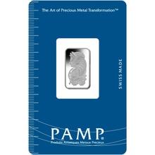 PAMP 5 Gram Platinum Bar Minted