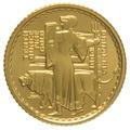 2001 Tenth Ounce Proof Britannia Gold Coin