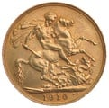 1910 Gold Sovereign - King Edward VII - Canada