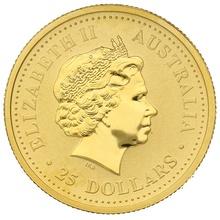 2006 Quarter Ounce Gold Australian Nugget