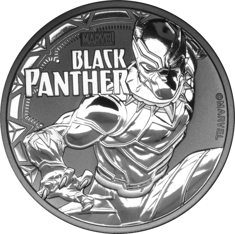 2018 Black Panther 1oz Silver Coin