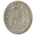 1881 Victoria Silver Halfcrown