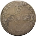 1687 James II Silver Crown - Fine {1-13-1687A}