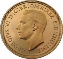 1940 Gold Half Sovereign