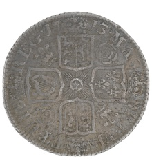 1713 Anne Shilling - Very Fine