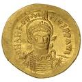 491-518 AD Anastasius I Gold Solidus