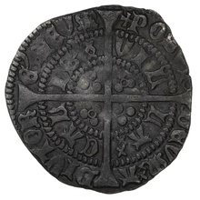 1422-30 Henry VI Silver Half Groat Annulet issue Calais mint