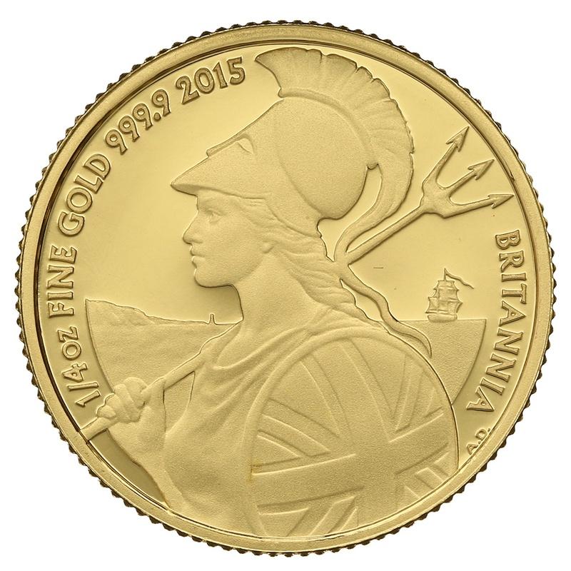 2015 Quarter Ounce Proof Britannia Gold Coin