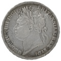 1822 George IV Silver Crown
