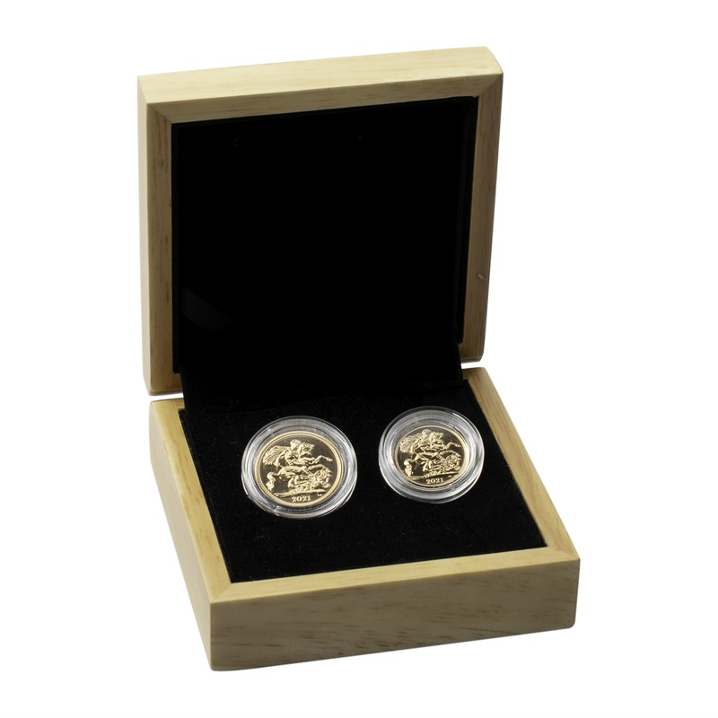 2021 Sovereign and Half Sovereign Gift Boxed