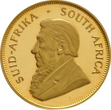 1986 Proof Half Ounce Krugerrand Gold Coin