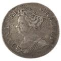 1711 Anne Shilling - Fine