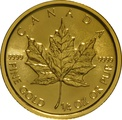 2018 Quarter Ounce Gold Maple