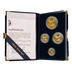 1990 Proof Gold Eagle 4-Coin Set Boxed