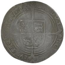1551 Edward VI Silver Sixpence