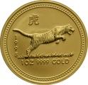 1998 1oz Gold Australian Lunar Year of the Tiger