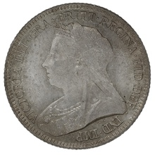 1893 Queen Victoria Silver Sixpence