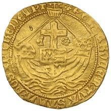 1471-83 Edward IV Hammered Gold Angel Second Reign