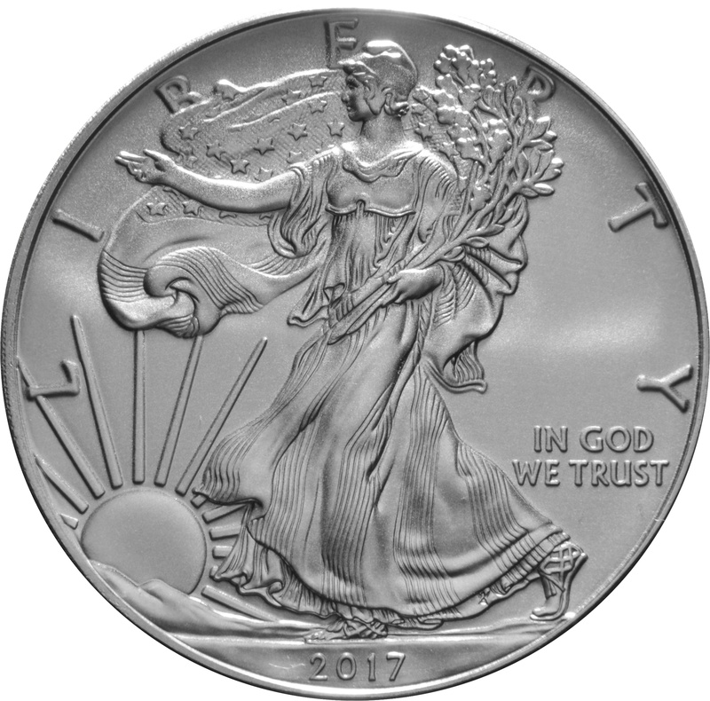 2017 1oz American Eagle Silver Coin