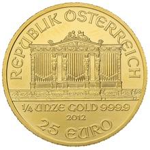 2012 Quarter Ounce Gold Austrian Philharmonic