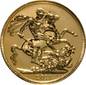 2011 Gold Sovereign - Elizabeth II Fourth Head