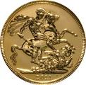2011 Gold Sovereign - Elizabeth II Fourth Head