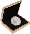 Large Oak Gift Box - 10oz Perth Mint Lunar Series Silver Coin