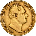 1837 Gold Sovereign - William IV