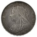 1898 LXII Queen Victoria Silver Crown