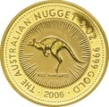 2006 2oz Gold Australian Nugget