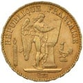 1896 20 French Francs - Guardian Angel - A