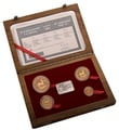 Krugerrand 1997 30th Anniversary 4-Coin Gold proof Set Boxed