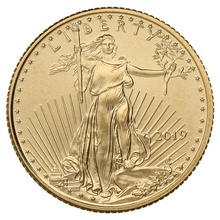 2019 Tenth Ounce American Eagle Gold Coin
