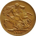 1923 Gold Sovereign - King George V - P