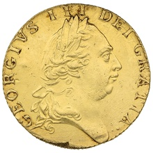 1789 George III Gold Guinea - Good Fine