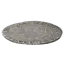 1555 Philip and Mary Hammered Silver Shilling