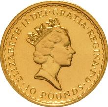 1988 Tenth Ounce Gold Britannia