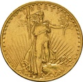 1910 $20 Double Eagle St Gaudens Head Gold Coin San Francisco
