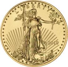 2018 Quarter Ounce American Eagle Gold Coin