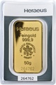 Heraeus 50 Gram Gold Bar