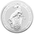 2021 2oz Silver Coin, White Greyhound of Richmond, Queen's Beast