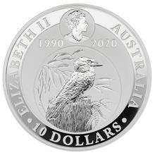 2020 10oz Silver Kookaburra